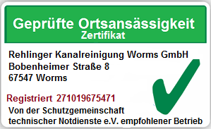 Kanalreinigung Worms