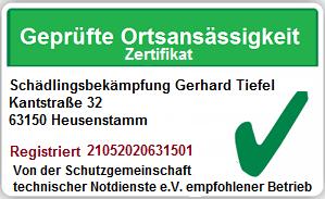 Kammerjäger Dietzenbach