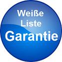 Weiße Liste Garantie