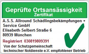 Schädlingsbekämpfung Aubing Lochhausen Langwied